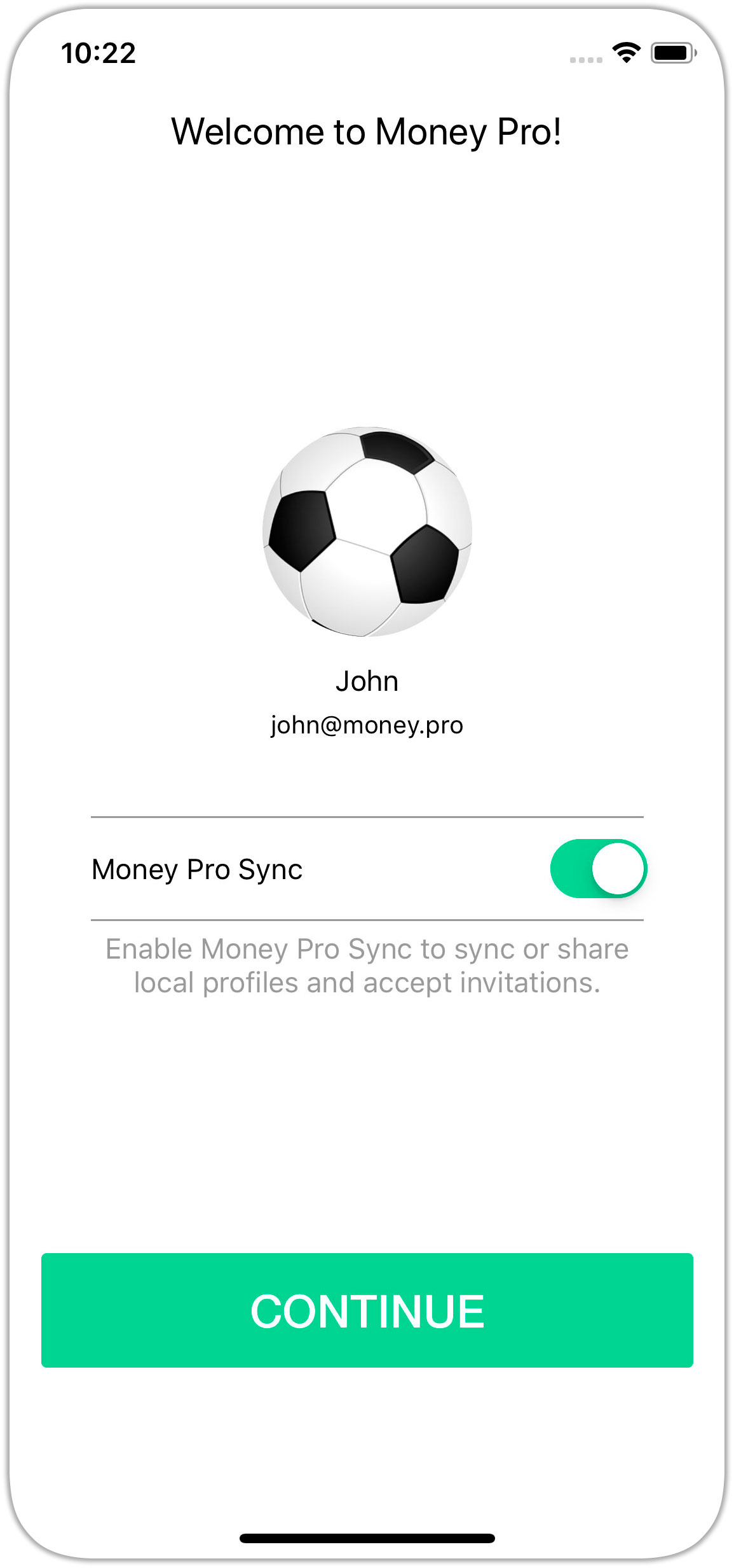 New Sync Service for uniting iOS, Android & Mac - Money Pro