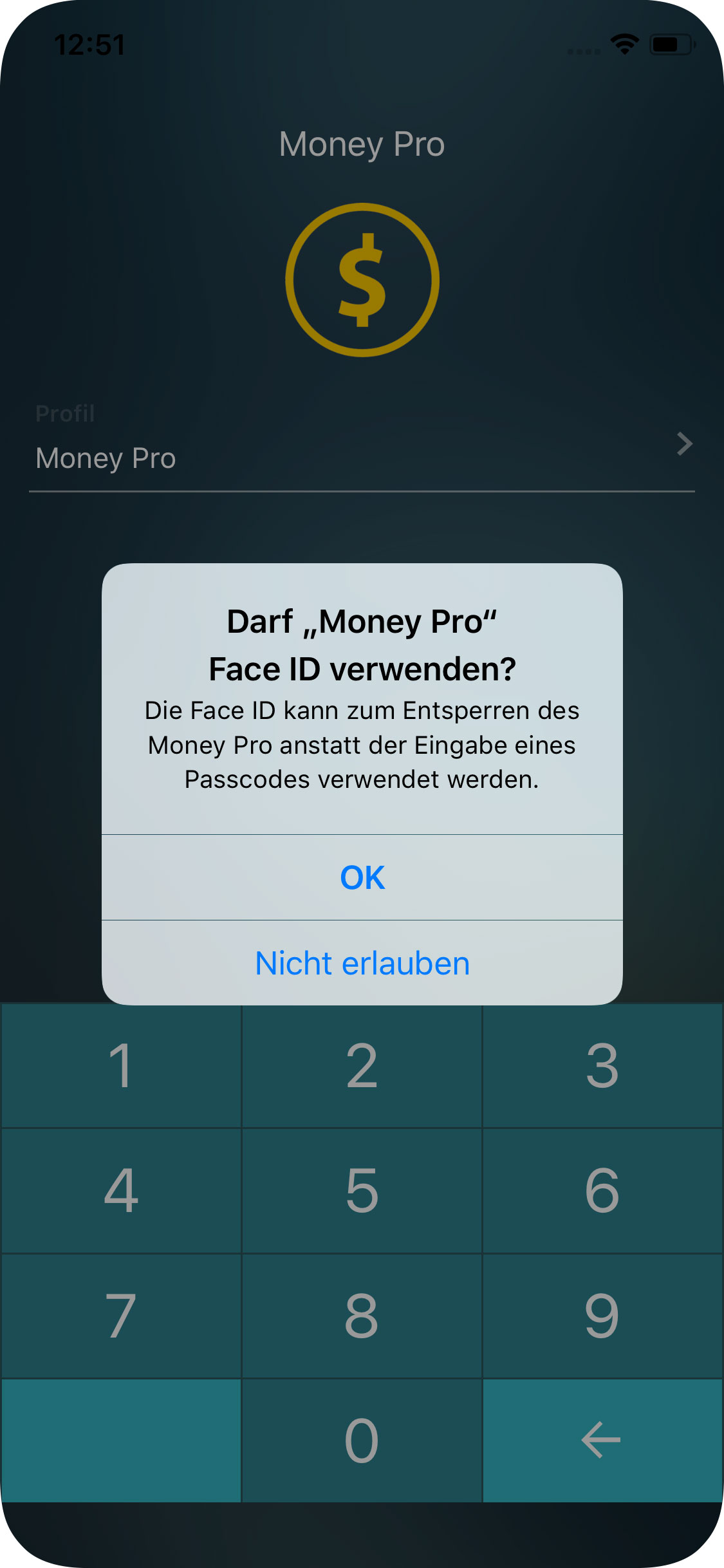 Money Pro - Touch ID / Face ID - iPhone