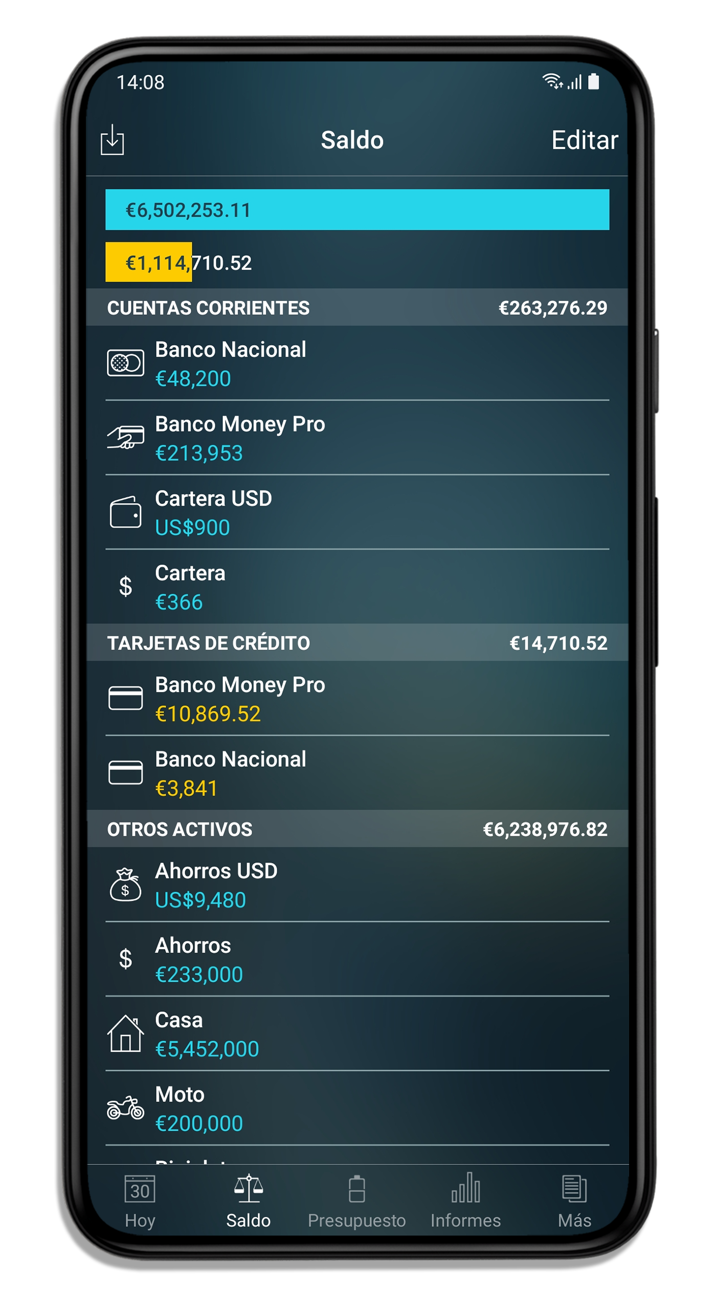 Money Pro for iPhone and iPad - Registro de talonario