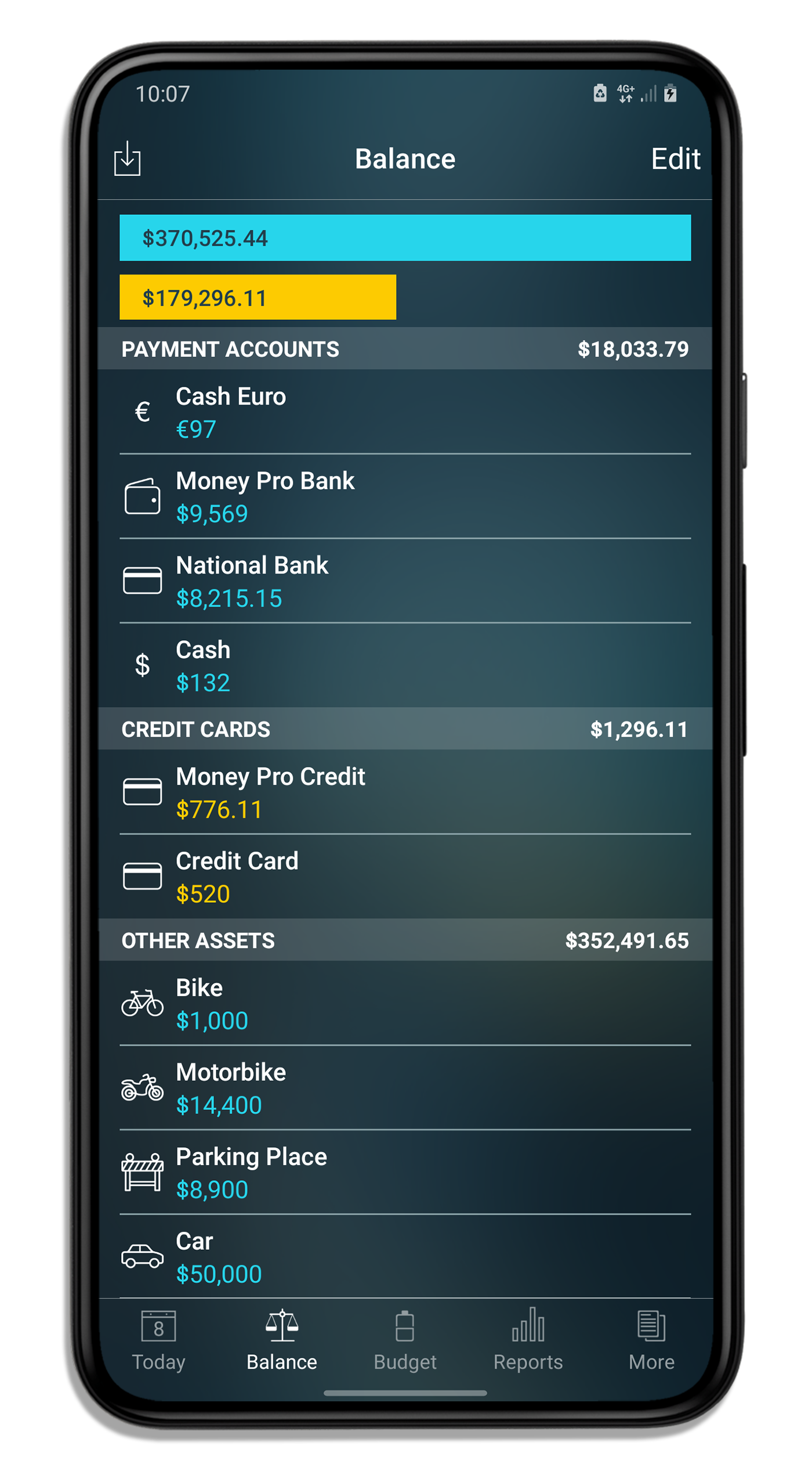 Money Pro for iPhone and iPad - Checkbook register