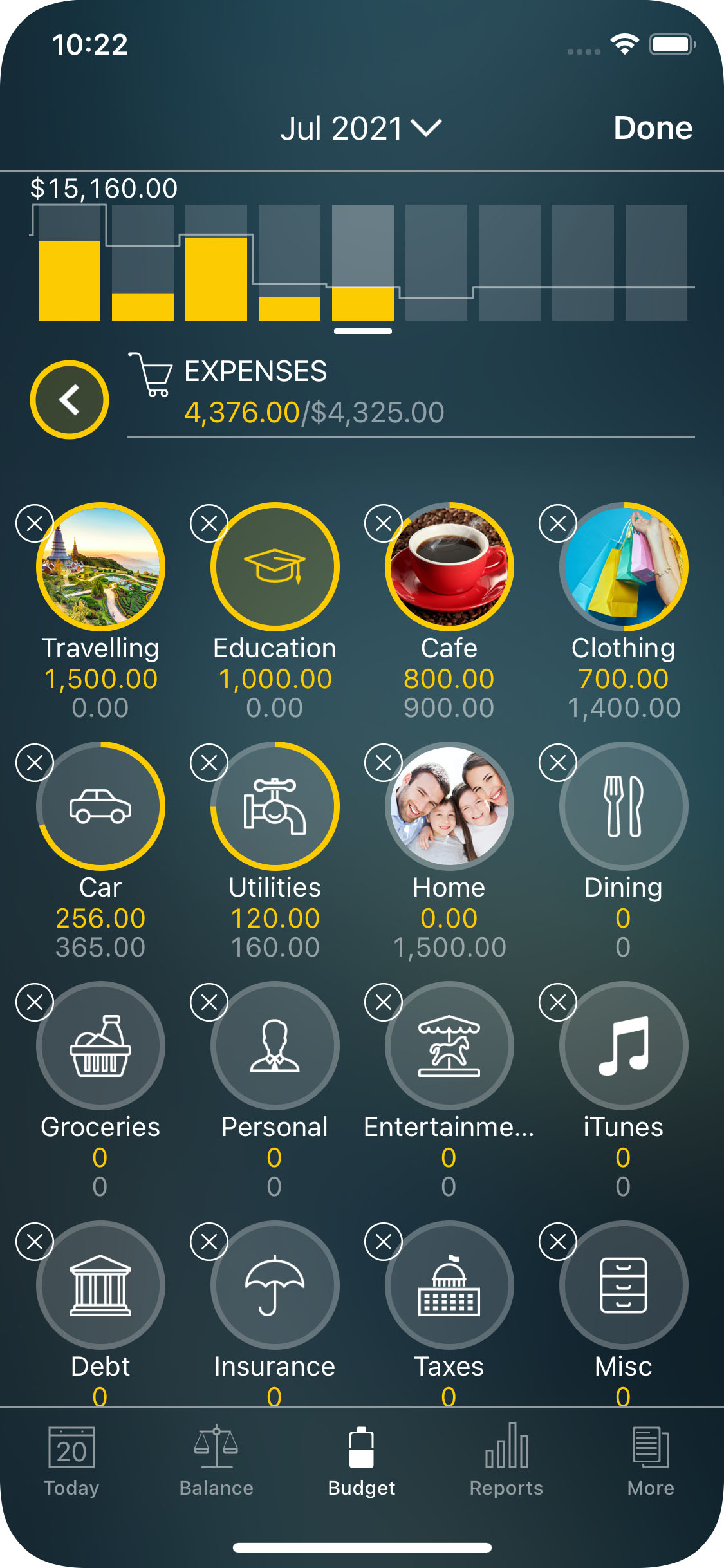 Money Pro for iPhone - Budget - Expenses
