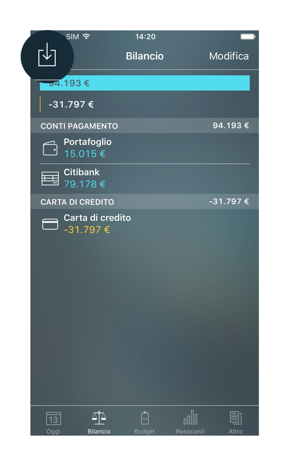 Money Pro - Importazione di file CSV e OFX (iOS, Mac, Android) - iPhone