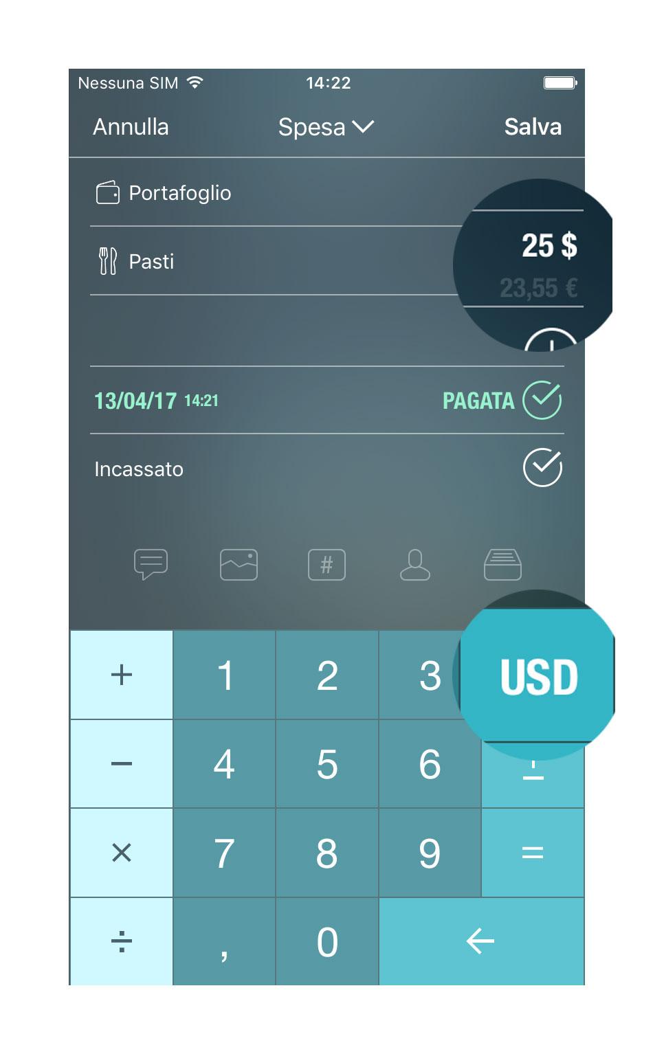 Money Pro - Convertitore di valuta - iPhone