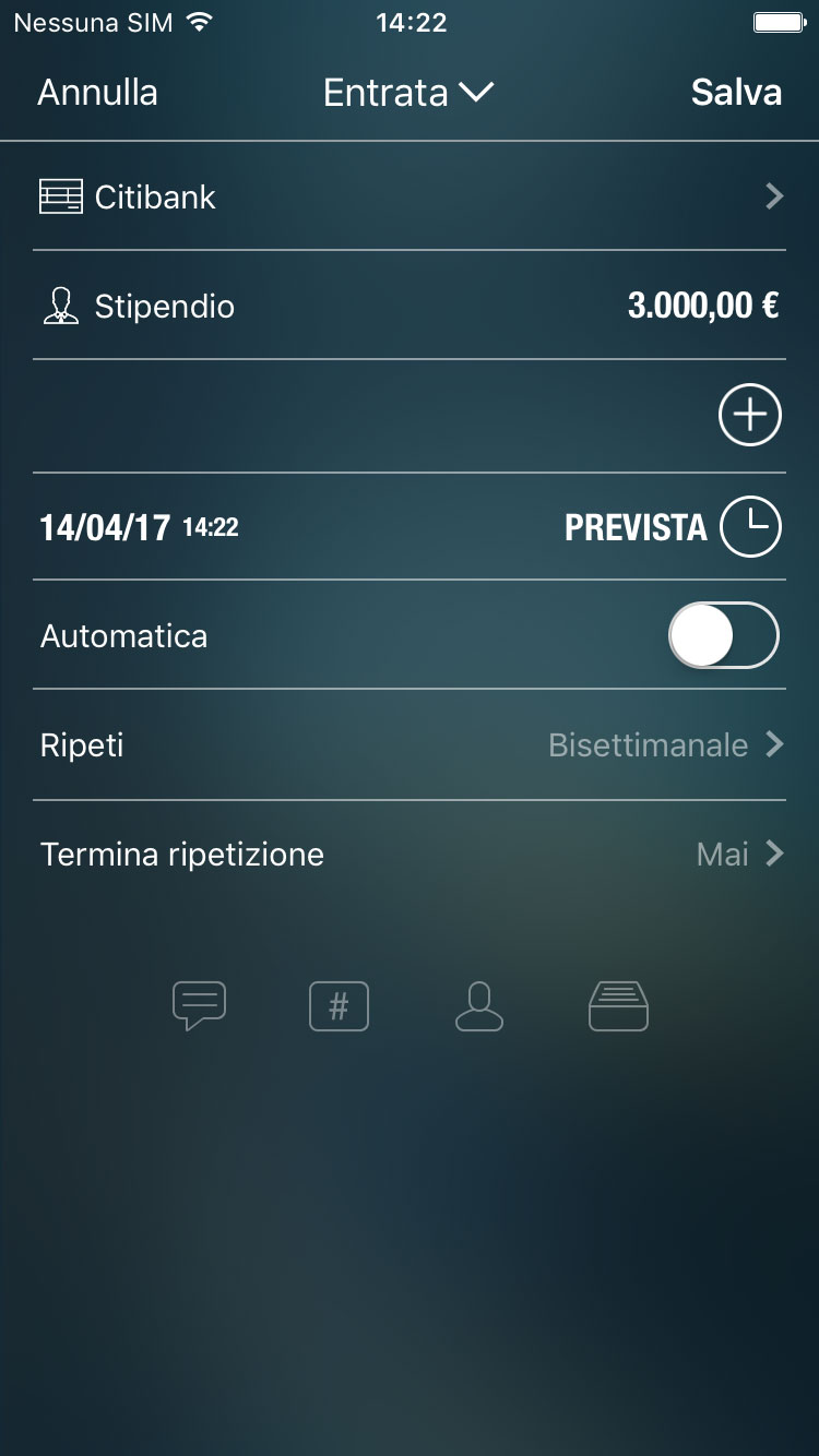 Money Pro - Addebiti pianificati e ricorrenti - iPhone