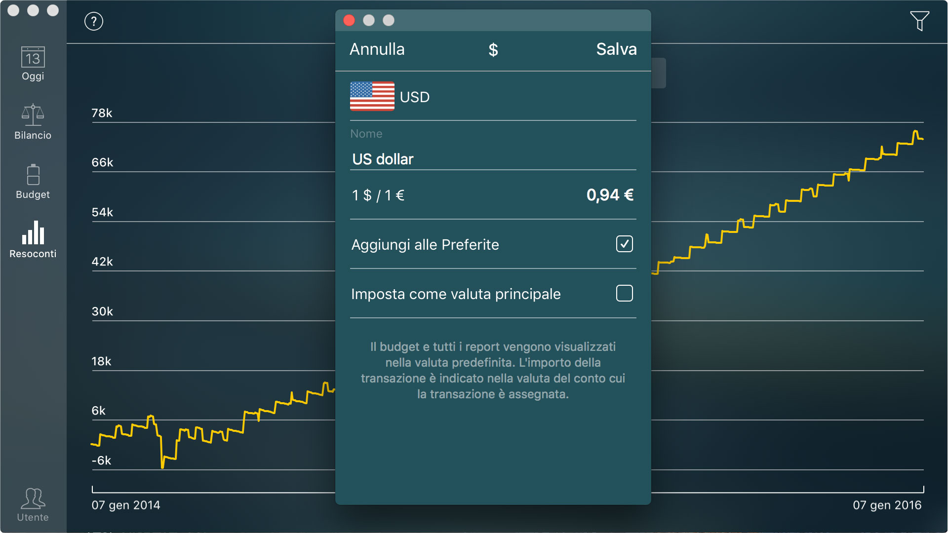 Money Pro - Convertitore di valuta - Mac