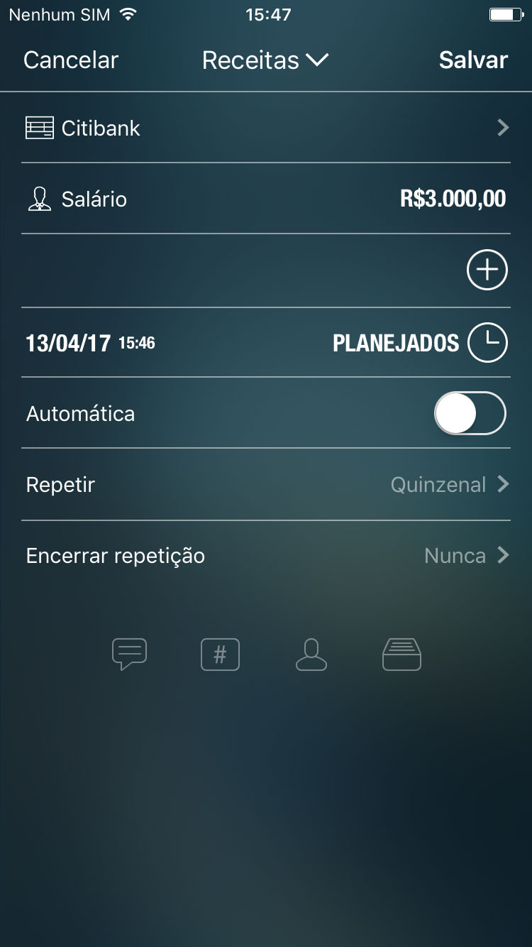 Money Pro - Contas planejadas e recorrentes - iPhone